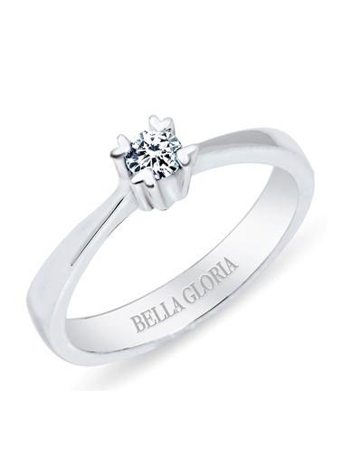 Bella Gloria Yüzük Beyaz